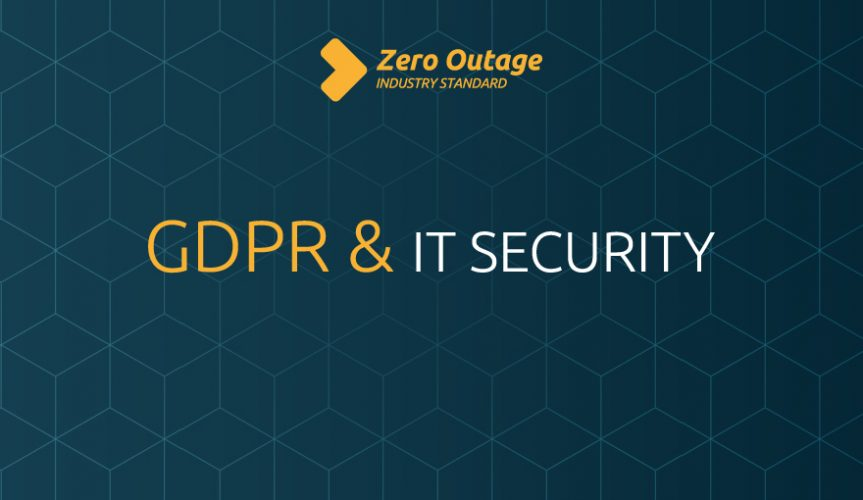 GDPR and IT Security – common misunderstanding